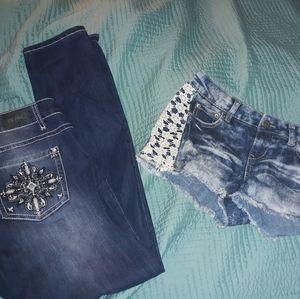 ZCO jeans, Vanilla Star jeans shorts